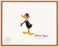Animation Art:Production Cel, Daffy Duck's Thanks-For-Giving Special Production Cel(Warner Brothers, 1980)....