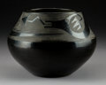 American Indian Art:Pottery, A San Ildefonso Blackware Jar. Maria Martinez...