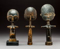 Other, Three Akuaba Dolls, Ashanti People, Ghana... (Total: 3 Items)