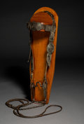 American Indian Art:Jewelry and Silverwork, A Navajo Headstall...