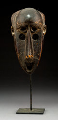 Tribal Art, A Bamana Mask Height:  9 inches...