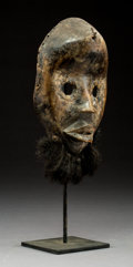 """Tribal Art, A Classic """"Round Eyed"""" Face Mask, Dan People, Liberia..."""