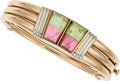 Estate Jewelry:Bracelets, Tourmaline, Gold Bracelet, Gucci . ...