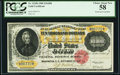Large Size:Gold Certificates, Fr. 1225h $10,000 1900 Gold Certificate PCGS Choice About New 58.. ...