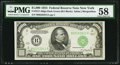 Small Size:Federal Reserve Notes, Fr. 2211-B $1,000 1934 Federal Reserve Note. PMG Choice About Unc 58.. ...