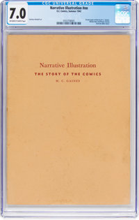Narrative Illustration: The Story Of The Comics #nn (EC, 1942) CGC FN/VF 7.0 Off-white to white pages