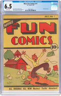 Platinum Age (1897-1937):Miscellaneous, More Fun Comics #11 (DC, 1936) CGC FN+ 6.5 Off-white pages....