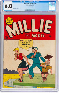Millie the Model #26 (Atlas/Marvel, 1951) CGC FN 6.0 Off-white to white pages