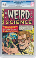 Golden Age (1938-1955):Science Fiction, Weird Science #12 (#1) White Mountain Pedigree (EC, 1950) CGC NM+ 9.6 Off-white to white pages....