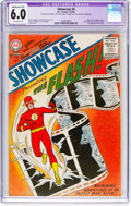 Silver Age (1956-1969):Superhero, Showcase #4 The Flash (DC, 1956) CGC Apparent FN 6.0 Moderate (A-3)Off-white pages....