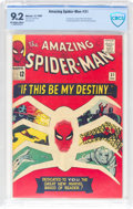 Silver Age (1956-1969):Superhero, The Amazing Spider-Man #31 (Marvel, 1965) CBCS NM- 9.2 Off-white towhite pages....