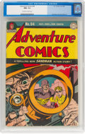 Golden Age (1938-1955):Superhero, Adventure Comics #94 (DC, 1944) CGC NM+ 9.6 Off-white to white pages....