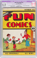 Platinum Age (1897-1937):Miscellaneous, More Fun Comics #14 (DC, 1936) CGC Apparent FN 6.0 Moderate (P) Cream to off-white pages....