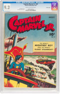 Golden Age (1938-1955):Superhero, Captain Marvel Jr. #22 Crowley Copy Pedigree (Fawcett Publications, 1944) CGC NM- 9.2 Cream to off-white pages....