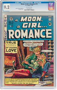 A Moon, A Girl...Romance #11 (EC, 1950) CGC NM- 9.2 Off-white pages