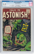 Silver Age (1956-1969):Superhero, Tales to Astonish #27 (Marvel, 1962) CGC VG/FN 5.0 Off-white to white pages....