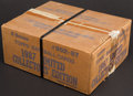 Baseball Cards:Sets, 1987 Topps Tiffany Baseball Unopened Case With 6 Sets.... (Total: 6 items)