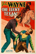 "Movie Posters:Western, The Lucky Texan (Monogram, 1934). One Sheet (27"" X 41"").. ..."