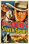 """Movie Posters:Western, Silver Spurs (Universal, 1936). One Sheet (27"""" X 41"""").. ..."""