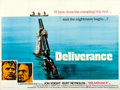 """Movie Posters:Action, Deliverance (Warner Brothers, 1972). British Quad (30"""" X 40""""). From the collection of David Frangioni, author of Clint Eas..."""