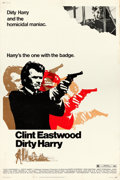"""Movie Posters:Crime, Dirty Harry (Warner Brothers, 1971). Poster (40"""" X 60""""). From the collection of David Frangioni, author of Clint Eastwood:..."""