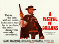 """Movie Posters:Western, A Fistful of Dollars (United Artists, 1967). British Quad (30"""" X 40""""). From the collection of David Frangioni, author of C..."""
