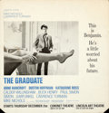 """Movie Posters:Comedy, The Graduate (Embassy, 1968). New York Premiere Poster (21"""" X 22"""").From the collection of David Frangioni, author of Clin..."""