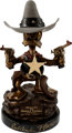 """Sheriff of Bullet Valley"" Donald Duck Limited Edition Bronze Sculpture #198/200 (Walt Disney/Paul Vought, 199..."
