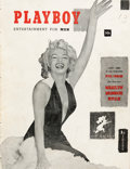 Magazines:Miscellaneous, Playboy First Complete Year Bound Volume (HMH Publishing,1953-54)....
