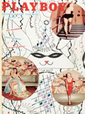 Magazines:Miscellaneous, Playboy Complete Second Year Bound Volume (HMH Publishing,1954-55)....