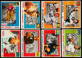 Football Cards:Sets, 1955 Topps All-American Football Partial Set (83/100)....