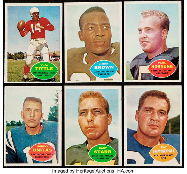 c745341f26c 1960 Topps Football Complete Set (132). ... Football Cards Sets ...
