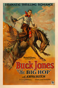 "The Big Hop (Buck Jones Productions, 1928). One Sheet (27"" X 41"") Style A"