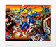 Jack Kirby Fiftieth Birthday Commemorative -- Captain America Limited Print Signed by Jack Kirby #715/950 (First T... (T...