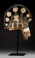 Tribal Art, A Maiden Spirit Mask, Igbo People, Nigeria...