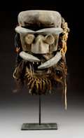 Other, An Excellent, Fierce Mask, Guere or Bete People, Liberia...