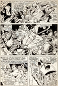 Original Comic Art:Panel Pages, Jerry Grandenetti and Bill Everett Tales to ...