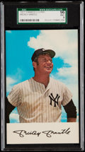 Baseball Cards:Singles (1970-Now), 1971 Dexter Press Yankees Clinic Mickey Mantle SGC 96 Mint 9....