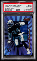 Football Cards:Singles (1970-Now), 1998 Bowman's Best Refractor Charles Woodson #101 PSA Gem Mint 10 - Serial #'d 259/400....