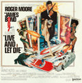 """Movie Posters:James Bond, Live and Let Die (United Artists, 1973). International Six Sheet(77"""" X 78"""") Robert McGinnis Artwork. From the collection ..."""