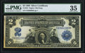 Large Size:Silver Certificates, Fr. 253 $2 1899 Silver Certificate PMG Choice Very Fine 35.. ...