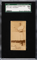 Baseball Cards:Singles (Pre-1930), 1887-90 N172 Old Judge Bill Holbert (#230-2 Brooklyn) SGC 84 NM 7....