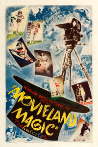 "Movieland Magic (Warner Brothers, 1946). One Sheet (27"" X 41"") From the Warner Media Archive"