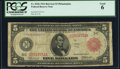 Fr. 834b $5 1914 Red Seal Federal Reserve Note PCGS Good 06