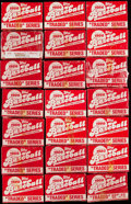 Baseball Cards:Sets, 1986 Topps Traded Baseball Complete Sets Lot of 21.... (Total: 21 items)