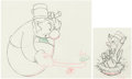 Animation Art:Production Drawing, Mother Goose Goes Hollywood W. C. Fields and Charlie McCarthy Animation Drawings Group of 2 (Walt Disney, 1938). ... (Total: 2 Original Art)