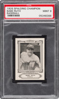 Baseball Cards:Singles (Pre-1930), 1926 Sports Co. of America Champions Babe Ruth (Nov. 1926)...