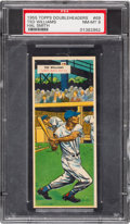 Baseball Cards:Singles (1950-1959), 1955 Topps Double Headers Ted Williams/Smith #69/70 PSA NM-MT 8....
