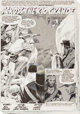 """Gray Morrow Savage Tales #1 Complete 8-Page Story """"Across the Rio Grande"""" Original Art (Marvel, 1985).... (Tot..."""