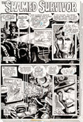"Original Comic Art:Complete Story, Ric Estrada G.I. Combat #184 ""The Shamed Survivor"" Complete5-Page Story Original Art (DC Comics, 1975).... (Total: 5 OriginalArt)"